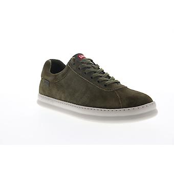Camper Runner Four  Mens Green Suede Lace Up Low Top Sneakers Shoes