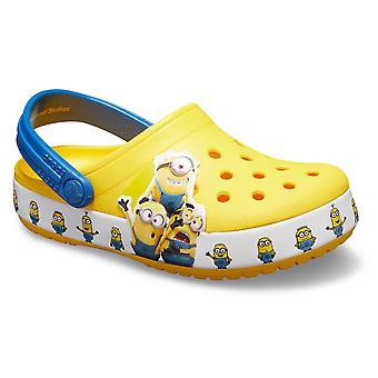 Crocs Funlab Minions Multi Clog 205512YELLOW universal summer infants shoes