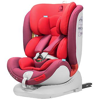 Apramo All Stage Child Car Seat Group 0+/1/2/3 Chilli Red