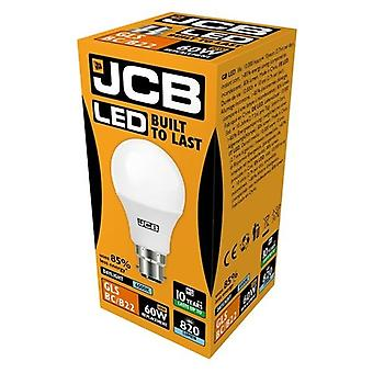 JCB LED A60 806lm Opal 10w Light Bulb B22 6500k