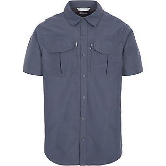 Overtreding Mens Baddenotch Quick Drogen Korte Mouw Shirt