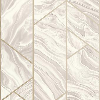 Marmor geometrische Glitter Tapete erröten Rasch 310917
