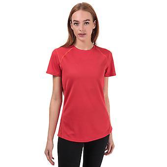 Mujer's Berghaus Crew Neck 2.0 Camiseta Tech en rosa