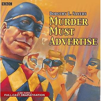 Murder Must Advertise by Sayers & Dorothy L.