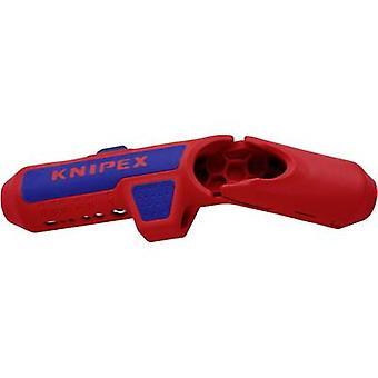 Knipex 16 95 01 SB ErgoStrip كابل متجرد مناسبة للكابل جولة، كابلات الغرفة الرطبة، كابلات البيانات، الكابلات المحورية 4.8 تصل إلى 13 ملم 0.2 تصل إلى 4 ملم ²