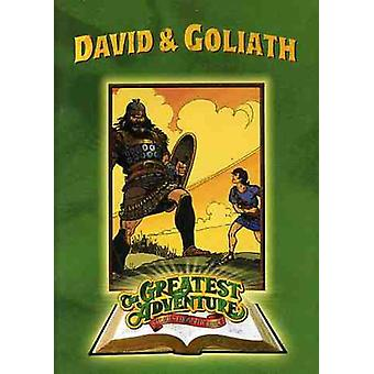 The Greatest Adventures of the Bible: David and Goliath [DVD] USA import