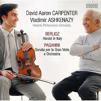 Berlioz/Paganini - Berlioz: Harold in Italy; Paganini: Sonata Per La Gran Viola E Orchestra [CD] USA import