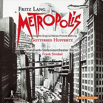 Huppertz / Strobel - Metropolis [CD] USA import