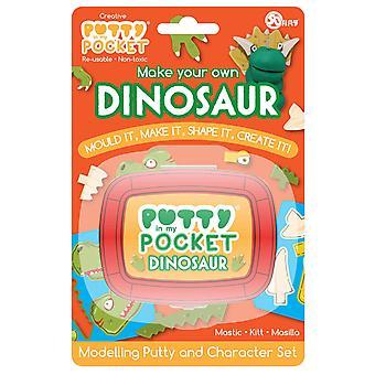 Στόκος στην τσέπη μου δεινόσαυρος προϊστορικό σχήμα χαρακτήρα καινοτομίας δημιουργικό