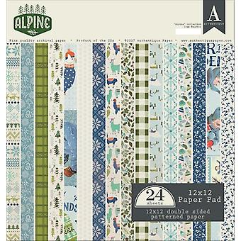 Authentique 12x12 Paper Pad Alpine