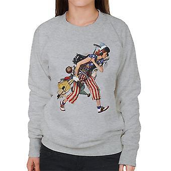 The Saturday Evening Post Liberty Girl Norman Rockwell Women's Sweatshirt