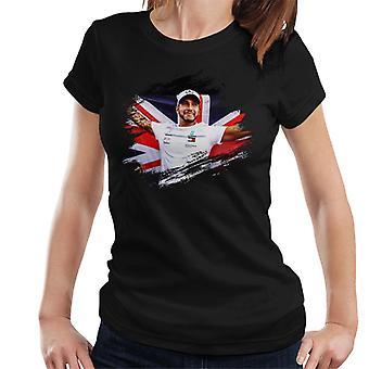 Motorsport kuvat Lewis Hamilton Autodromo naisten ' s T-paita