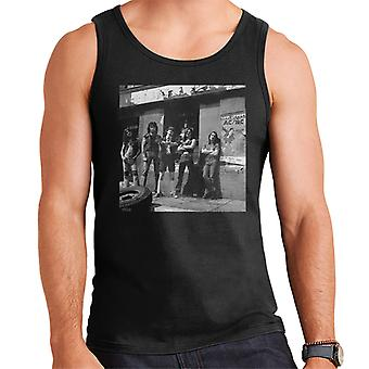 ACDC Photo Shoot Poster 1976 Men's Vest