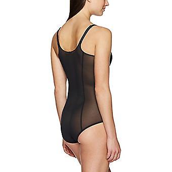 العلامة التجارية - أرابيلا المرأة & ق شبكة شكل الجسم shaper، أسود، صغير