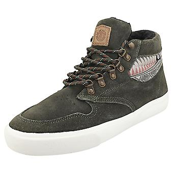 Element Topaz C3 Mid Mens Chukka Trainers in Forest