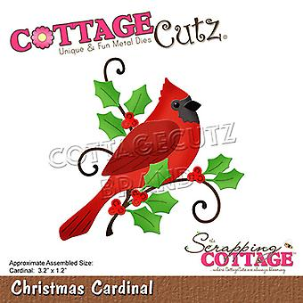 Scrapping Cottage Christmas Cardinal