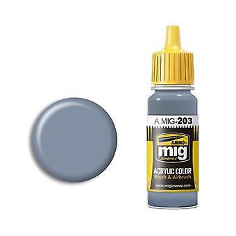 Ammo by Mig Acrylic Paint - A.MIG-0203 FS 36375 Light Compass Ghost Grey (17ml)