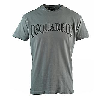 Dsquared2 Panoramic Logo Cool Fit Grey T-Shirt