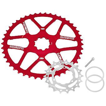 Blackspire Recognition Cassettes Extension 45 Teeth / Shimano 11-speed, red