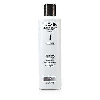 Nioxin System 1 cabelludo Terapia Acondicionador Cabello fino, normal-fino cabello 300ml / 10,1 oz