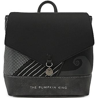 Loungefly X Nightmare Before Christmas Pumpkin King Convertible Mini Backpack