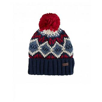 Barbour Malton Fairisle Bobble Beanie