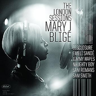Mary J. Blige - Lontoo istuntojen [vinyyli] USA tuonti