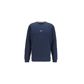 Hugo Boss Casual Hugo Boss Men's Dark Blue Weevo Sweatshirt