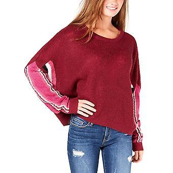 Ultra Flirt | Striped Dolman-Sleeve Sweater