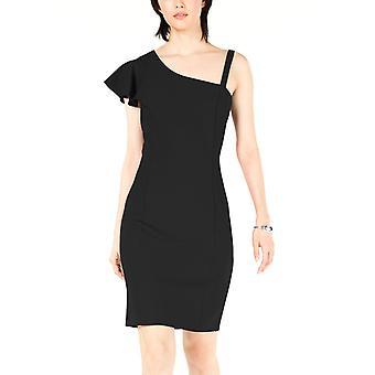 בר 3 | שמלת מיני ללא שרוולים עם צווארון V