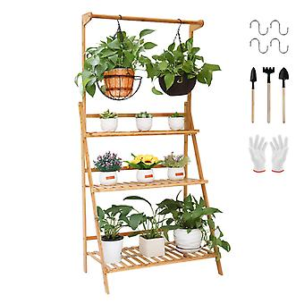 Folding 3-tier Hanging Plant Stand