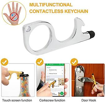 Safety Protection Isolation No-touch Anti-bacteria Elevator Tool Hygiene Hand Door Opener Handle Key