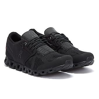 On Running The Cloud Womens All Black Trainers