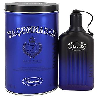 Faconnable Royal Eau De Toilette Spray door Faconnable 3.4 oz Eau De Toilette Spray