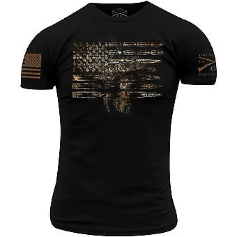 Grunt Style Realtree Edge Ammo Flag T-Shirt - Black