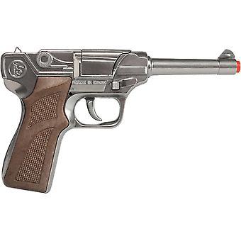 CAP GUN - 124/0 - Gonher Police Pistol 8 Shots