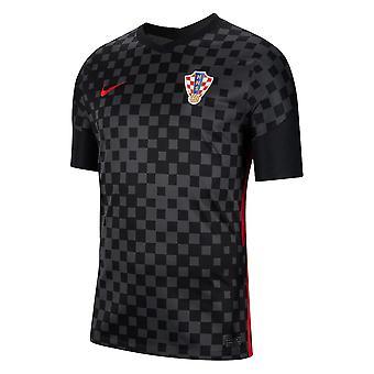 2020-2021 كرواتيا بعيدا نايكي قميص كرة القدم