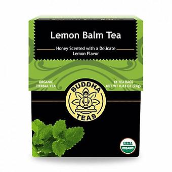 Buddha Teas Lemon Balm Tea, 18 Bags