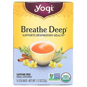 Yogi Tea- Breathe Deep , NA, 16 Bags