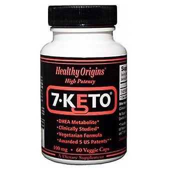 Healthy Origins 7-Keto DHEA Metabolite, 60 Veg Caps