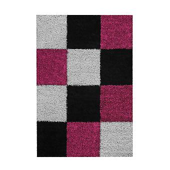 Maedow Matta 4157 Svart/Violett 160x230cm