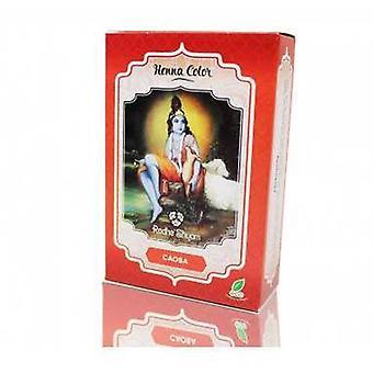Radhe Shyam Henna Powder Colour Caoba 100 g