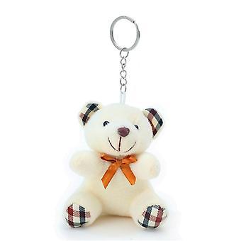 Töltött Teddy Bear Plüss Kulcstartó
