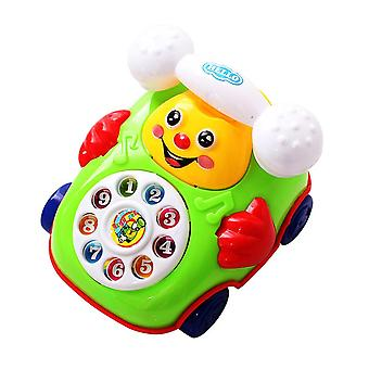 Colorful Plastic Musical Baby Telephone Toy