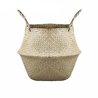 Storage - Rattan Straw Basket Wicker Seagrasss