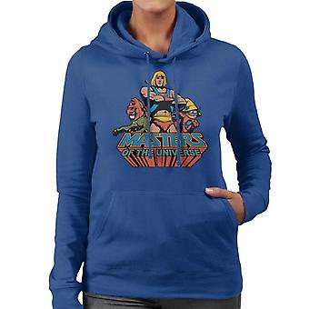 Masters of the Universe Han Man Classic Logo Women's Hooded Sweatshirt
