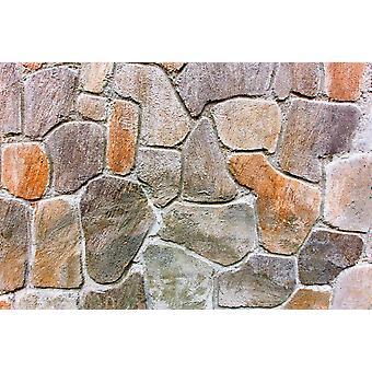 Seinämaalaus kiviseinä