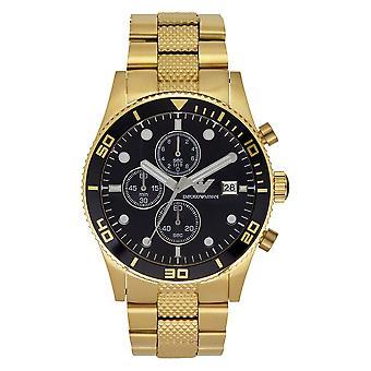 Armani Ar5857 kulta ruostumaton miesten kello