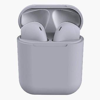 TWS inPods 12 Casque casque avec boîte de chargement - gris adapté pour Android/IOS
