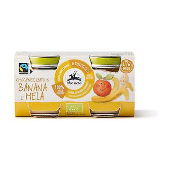 Baby Food Bio banana apple baby food None